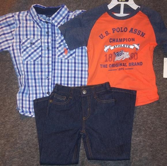725f63054 Brand New boys 3 piece U.S. POLO ASSN. Outfit